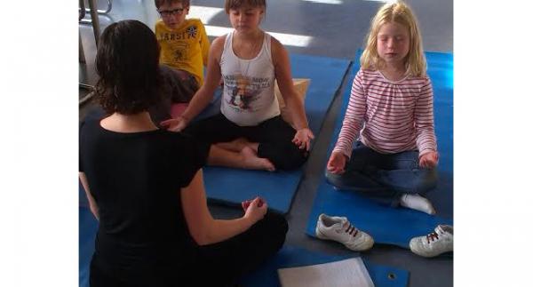 J'ai décidé de créer un atelier de méditation pour les enfants