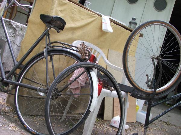 J'ai décidé de créer un atelier d'apprentissage de réparation et d'entretien des vélos !