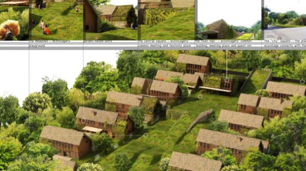 Et si on créait un habitat groupé pour y développer diverses activités respectueuses de l'environnement, de l'humain et ouverts sur l'extérieur ?