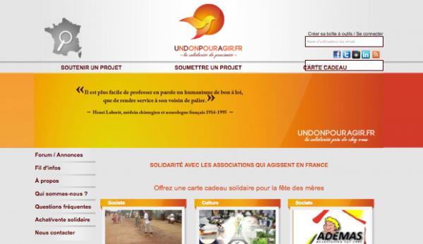 On a décidé de créer un site internet pour aider les associations !