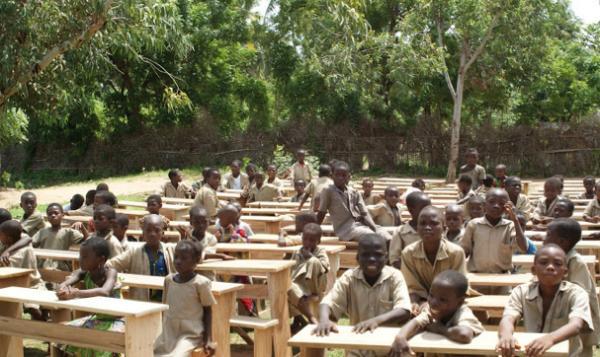 J'ai décidé de soutenir l'éducation des enfants du village de Seko