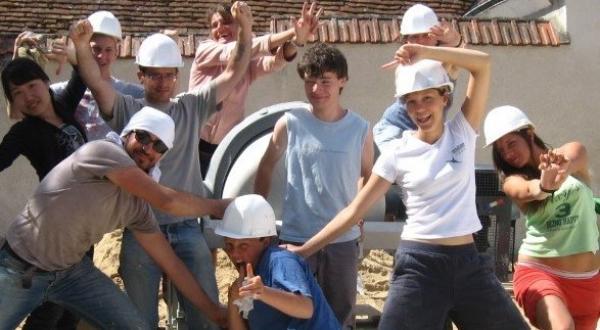 On a décidé de proposer des chantiers pour jeunes volontaires