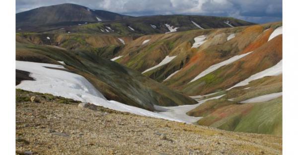 J'ai décidé de vous parler de l'Islande d'un point de vue géologique