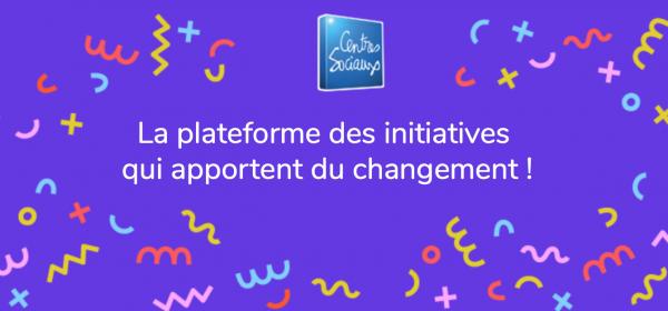 On a décidé de créer une plateforme participative qui recense des initiatives autour du développement du pouvoir d'agir  dans les centres sociaux en France
